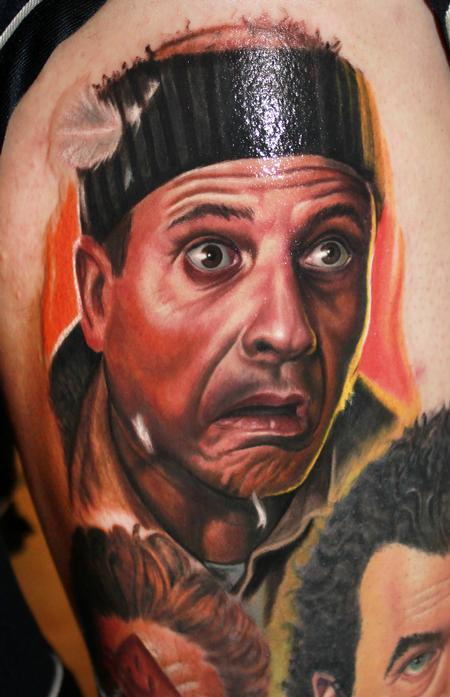 Steve Wimmer - Joe Pesci as Harry from Home Alone